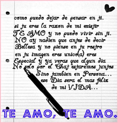 te amo te amo