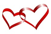 5168272-two-linked-hearts-of-red-ribbon