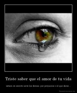 desmotivaciones.mx_Triste-saber-que-el-amor-de-tu-vida-estara-en-secreto-ante-los-demas-por-prejuicios-o-el-que-diran_134091064218