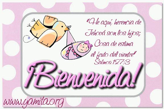 Frase De Bienvenida Bebé Imagui