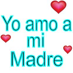 yo_amo_a_mi_madre_square_sticker_3_x_3