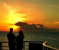Fotos de atardeceres románticos
