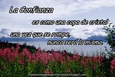 Frases en Imagenes para Facebook de Confianza 1