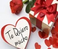 Imágenes de corazones con frases te quiero mucho