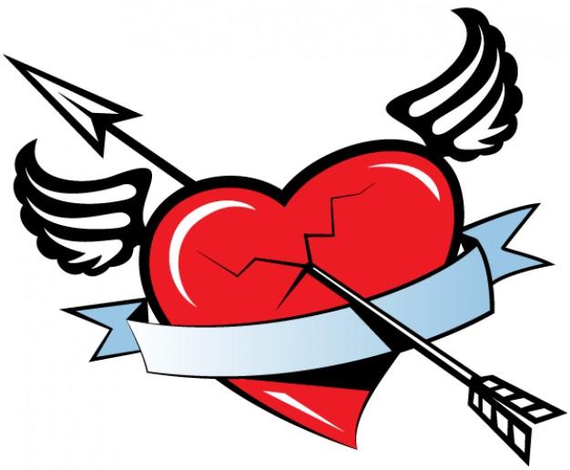 imagenes-de-corazones-con-alas-para-dibujar
