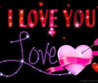 Imágenes de rosas con movimiento con frase de te quiero mucho