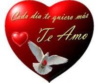 Imágenes de corazones con frases para el amor