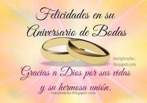 feliz aniversario bodas imagenes  frases
