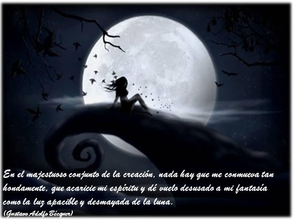 Imágenes Románticas De Luna Llena Para Decir Buenas