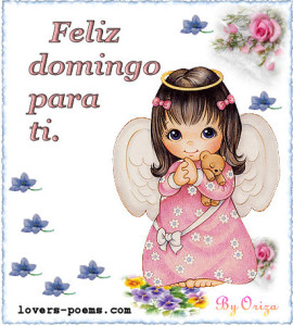 feliz domingo angel