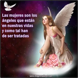 imagenes de angeles con frases de reflexion