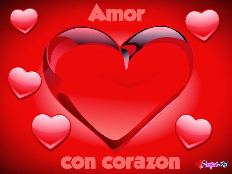 Lindos corazones para alguien especial imagenes de amor - Corazon de fotos en pared ...