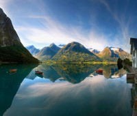 lindos paisajes para fondo de pantalla