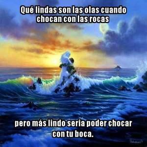 piropo de olas de amor