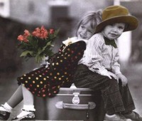 Imágenes románticas de amor con niños enamorados
