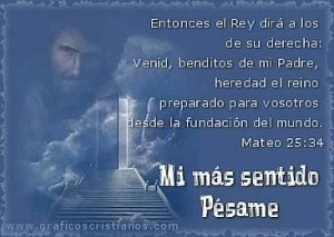 Tarjetas con Frases de Pesame 12