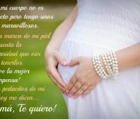 Imágenes con pensamientos para mujeres embarazadas