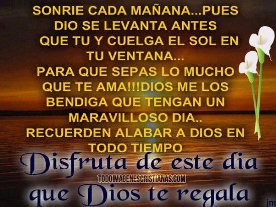 Imágenes Con Frases Cristianas De Buenos Días Imagenes De