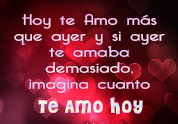 Imágenes De Amor Con Frases Te Amo Mucho Mas