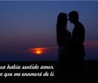 Tarjetas de amor con frases me enamore de ti