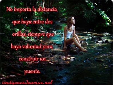 Tarjetas+ de+ mujer+ con+ frases+ a +distancia+ para+ etiquetar+ en+ tu+ muro