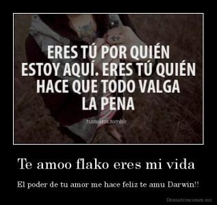 desmotivaciones.mx_Te-amoo-flako-eres-mi-vida-El-poder-de-tu-amor-me-hace-feliz-te-amu-Darwin_13614094554