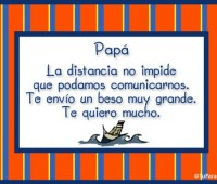 Tarjetas de amor para papá