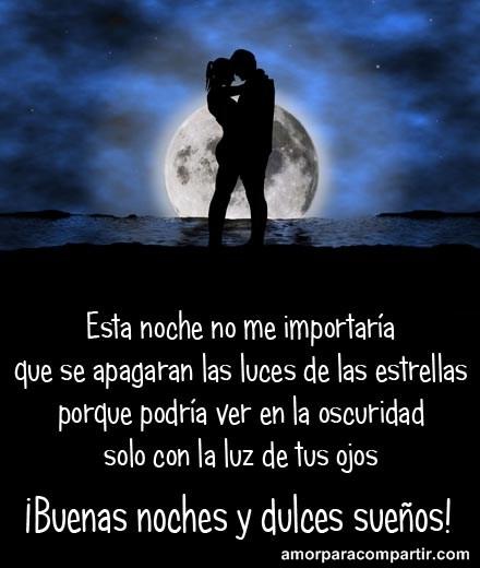 Imágenes De Buenas Noches Amor Con Frases Imagenes De Amor