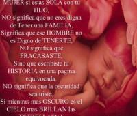 Imágenes de amor Dios bendiga a las madres solteras