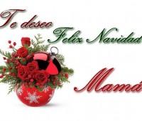 Postales de feliz navidad mamá