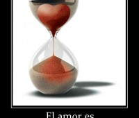 Imágenes de relojes con frases de amor