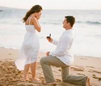 Imágenes románticas de parejas pidiendo matrimonio