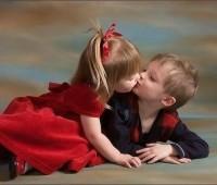 Imágenes de niños romanticos