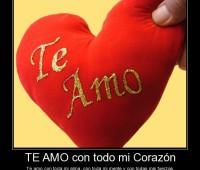 Imágenes de amor con todo mi corazón te amo