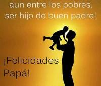 Imágenes de amor con frases de amor de feliz día papá