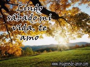 lindo+sabado+amor+de+mi+vida