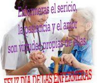 Imágenes de amor con frase para las enfermeras